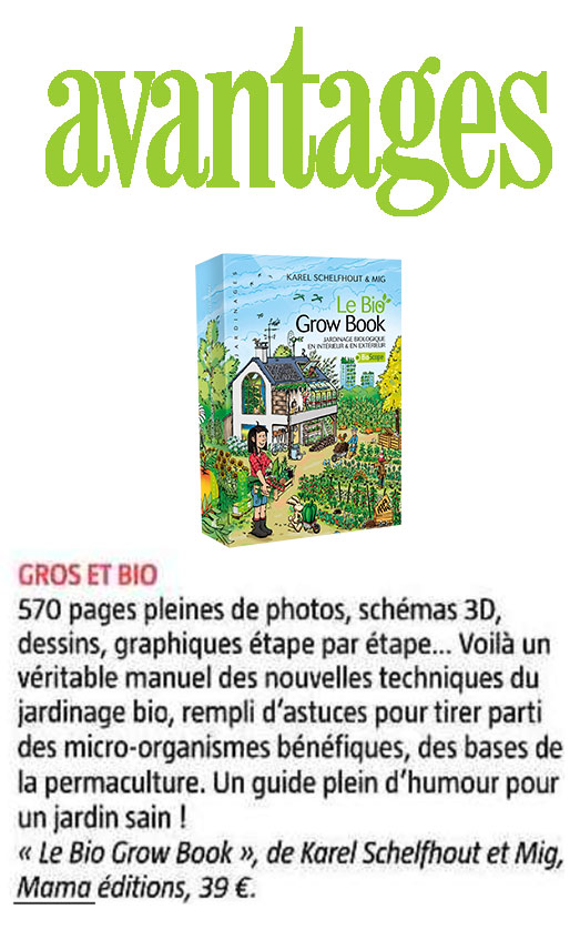 Mama Éditions | Livre : Le Bio Grow Book